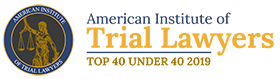American Institute of Tail Lawyers | Top 40 Under 40 2019